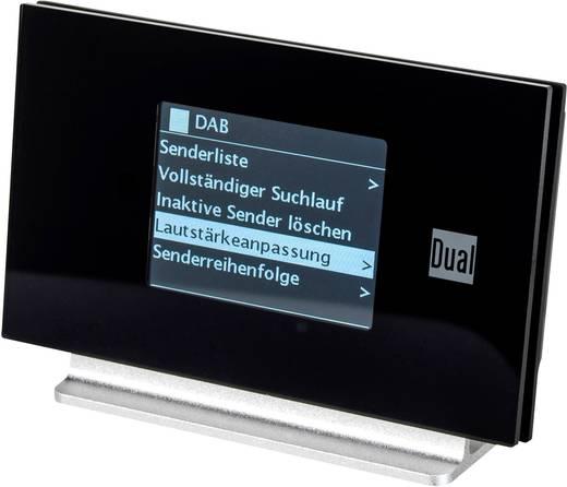 Dual Radio Station IR 3A Internet Radio-Adapter Bluetooth® DLNA-fähig, Spotify Schwarz, Silber