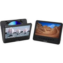 DVD prehrávač do opierok hlavy, 2x LCD Denver MWT-756 TWIN NB