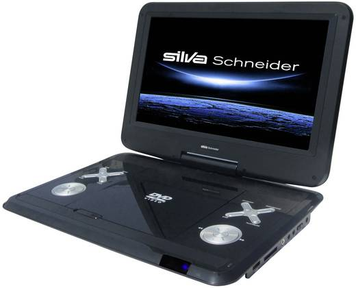 tragbarer dvd player 30 5 cm 12 zoll silva schneider dvd. Black Bedroom Furniture Sets. Home Design Ideas