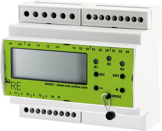 Überwachungsrelais 24, 110 - 250, 240 V/DC, V/AC 1 Wechsler 1 St. tele V2IM10AL10 1-Phase, Strom (DC/AC), Unterstrom, Üb