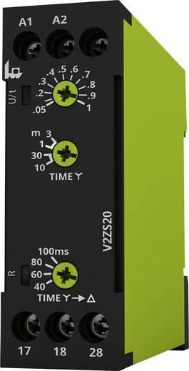 tele V2ZS20 12-240V AC/DC Zeitrelais Multifunktional 1 St. Zeitbereich: 0.04 - 180 s 2 Schließer