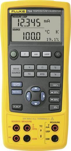 Fluke 724 Kalibrator Spannung, Temperatur, Widerstand 4x Mignon-Batterie AA (enthalten) Kalibriert nach Werksstandard (o