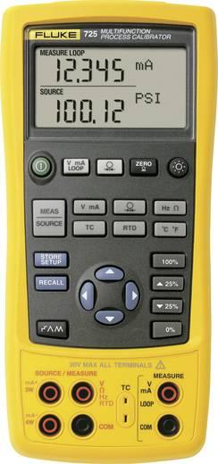 Fluke 725 Kalibrator Spannung, Strom, Temperatur, Widerstand, Druck, Frequenz 4x Mignon-Batterie AA (enthalten) Kalibrie