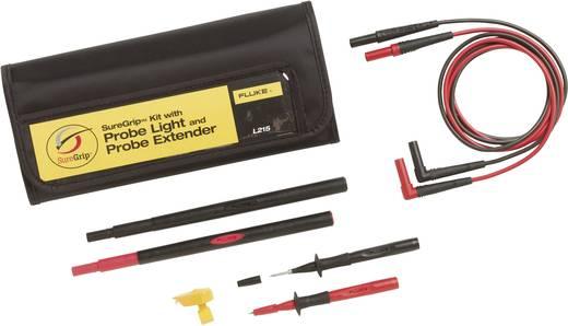 Sicherheits-Messleitungs-Set [Prüfspitze, Lamellenstecker 4 mm - Lamellenstecker 4 mm] Rot, Schwarz Fluke L215