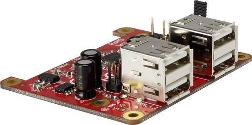 USB Power Hub Erweiterungs-Platine für den Raspberry Pi