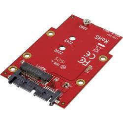 Konvertor rozhrania Renkforce RF-2748526, [1x Microsemi zásuvka - 1x kombinovaná SATA zástrčka 15+7-pólová]