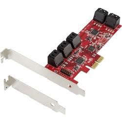 0+10 portů kontrolní karta SATA III PCIe Renkforce