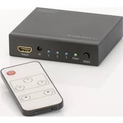 Prepínač HDMI Digitus DS-48304, 3 porty