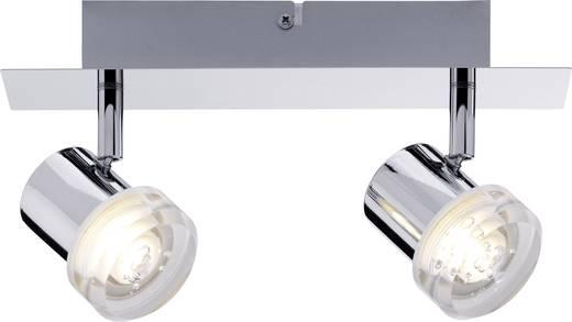 LED-Deckenstrahler 6.4 W Warm-Weiß Paulmann Pearl 60374 Chrom