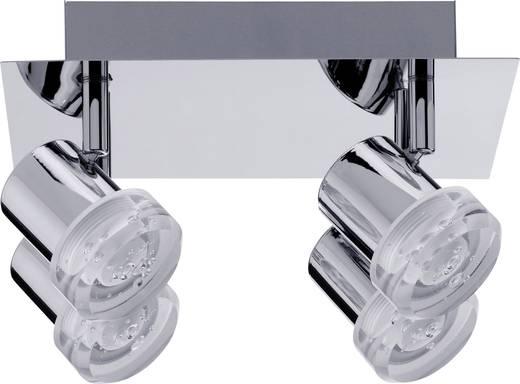 LED-Deckenstrahler 12.8 W Warm-Weiß Paulmann Pearl 60376 Chrom