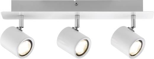 LED-Deckenstrahler 10.2 W Warm-Weiß Paulmann Plain 60389 Weiß, Chrom