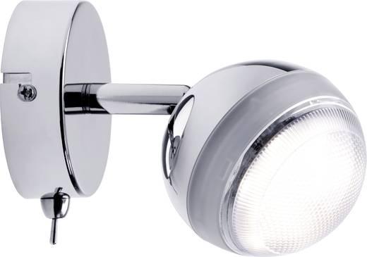 LED-Wandstrahler 4.6 W Warm-Weiß Paulmann Scoop 60359 Chrom