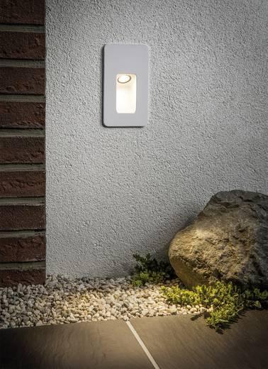 LED-Außeneinbauleuchte 2.4 W Warm-Weiß Paulmann Slot 93808 Weiß (matt)