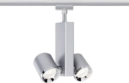 Paulmann TecLED II Hochvolt-Schienensystem-Leuchte URail LED fest eingebaut 13 W LED Chrom (matt)