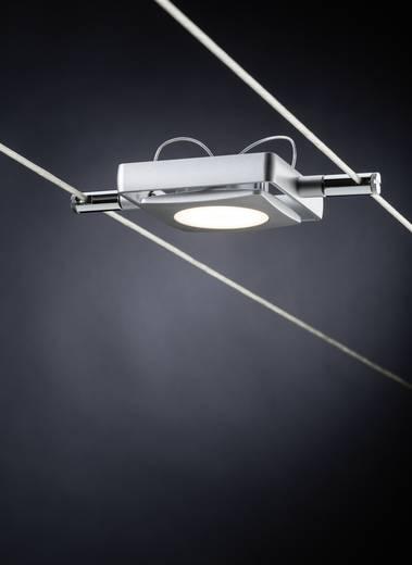 Seil-Komplettsystem LED fest eingebaut 18 W LED Paulmann MacLED 94107 Chrom (matt)