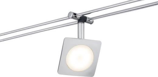 Schienen-Komplett-System LED fest eingebaut 24 W LED Paulmann QuadLED 95193 Chrom (matt)