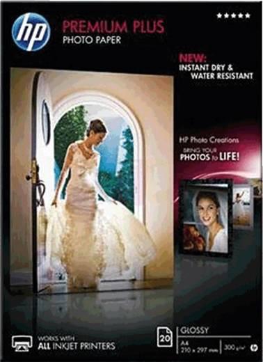 Fotopapier HP Premium Plus Photo Paper CR672A DIN A4 300 g/m² 20 Blatt Hochglänzend