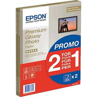 Epson Premium Glossy Photo Paper C13S042169 Fotopapier DIN A4 255 g/m² 30 Blatt Hochglänze Preisvergleich