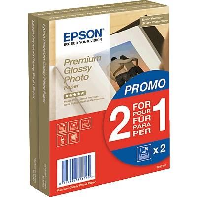 Epson Premium Glossy Photo Paper C13S042167 Fotopapier 10 x 15 cm 255 g/m² 80 Blatt Hochgl Preisvergleich