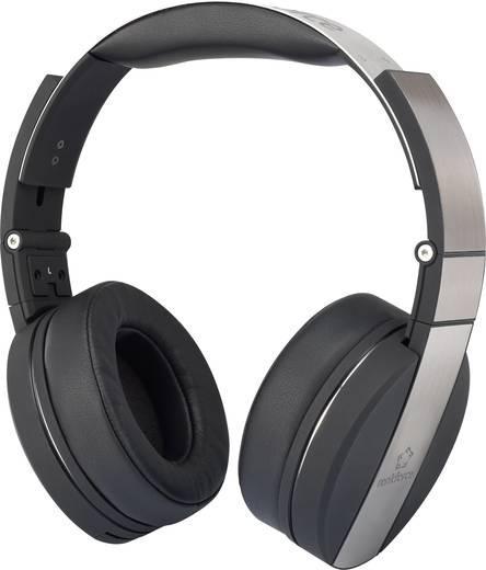 Kopfhörer Renkforce SH4055 On Ear Headset Metallic-Silber