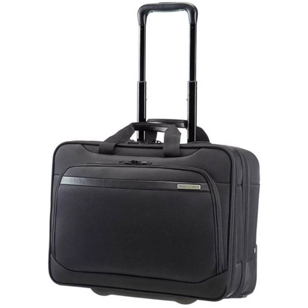 mallette ordinateur portable valise roulettes 43 9 cm 17 3 samsonite vectura noir sur le. Black Bedroom Furniture Sets. Home Design Ideas