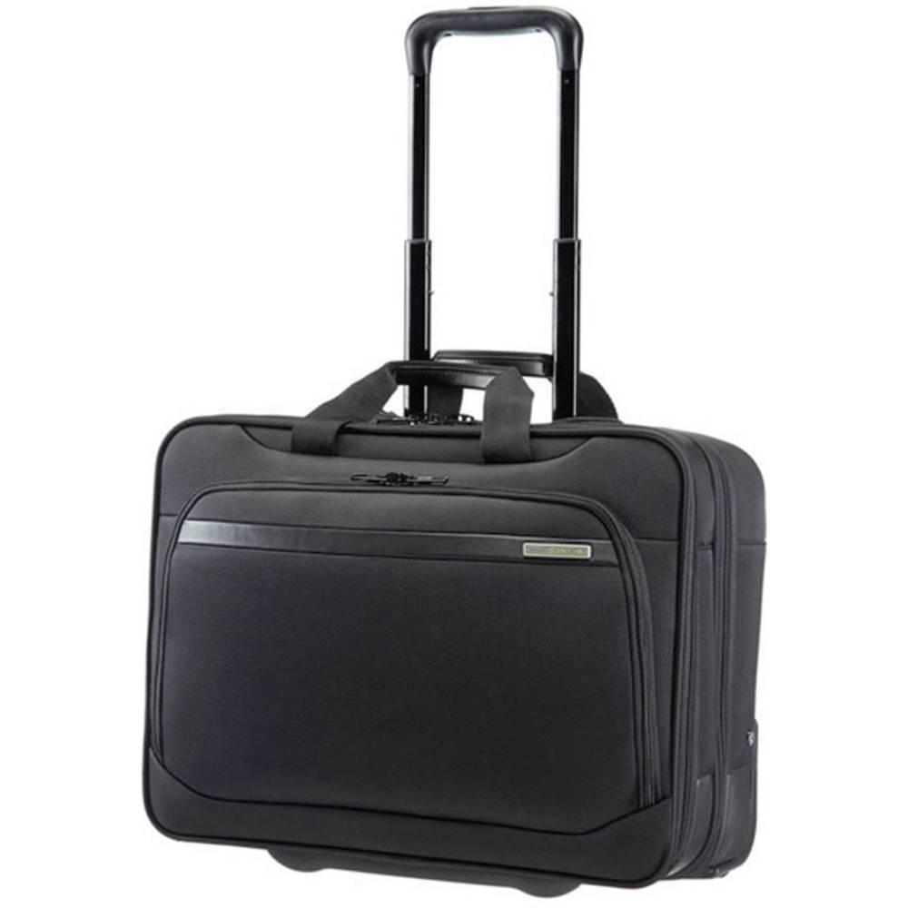mallette ordinateur portable valise roulettes 43 9 cm 17 3 samsonite vectura noir sur le. Black Bedroom Furniture Sets. Home Design Ideas