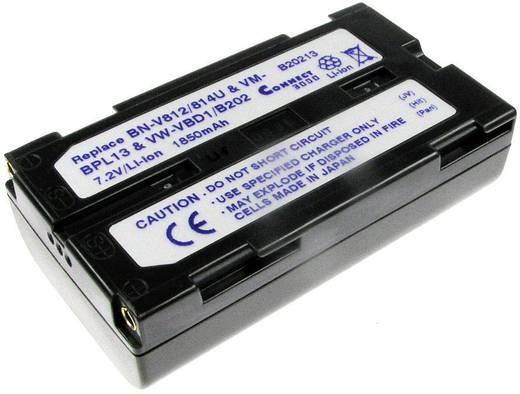 Kamera-Akku Connect 3000 ersetzt Original-Akku VW-VBD1E 7.2 V 2300 mAh VW-VBD1E
