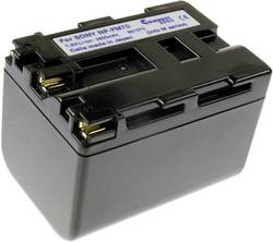Image of Camera battery Connect 3000 replaces original battery NP-FM70 7.2 V