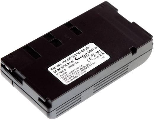 Kamera-Akku Connect 3000 ersetzt Original-Akku CP448 6 V 1200 mAh CP448