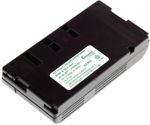 Kamera-Akku Connect 3000 ersetzt Original-Akku VM-BP22 6 V 2100 mAh VM-BP22