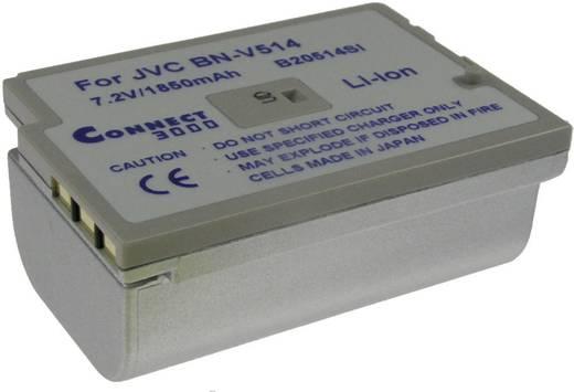 Kamera-Akku Connect 3000 ersetzt Original-Akku BN-V514 7.2 V 1870 mAh BN-V514