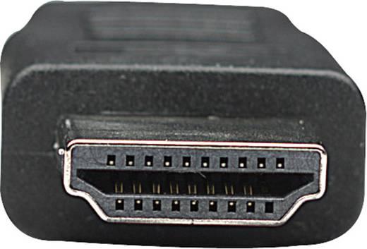 Manhattan HDMI Anschlusskabel [1x HDMI-Stecker - 1x HDMI-Stecker] 1 m Schwarz