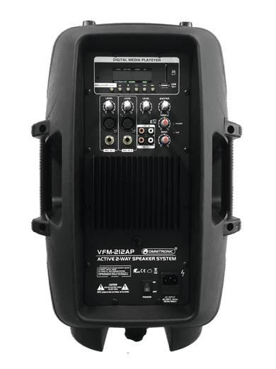 Aktiver PA Lautsprecher 30 cm 12 Zoll Omnitronic VFM-212AP 140 W 1 St.