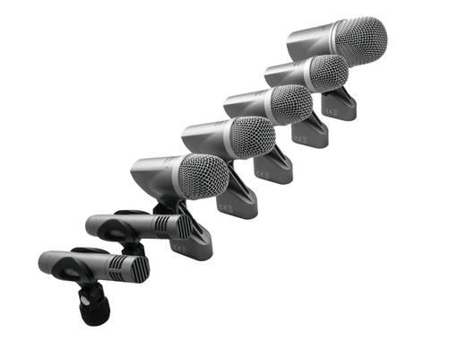 Ansteck Instrumenten-Mikrofon Omnitronic Übertragungsart:Kabelgebunden