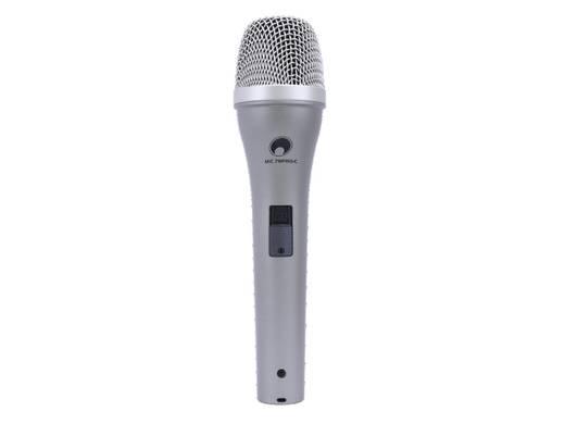 Hand Gesangs-Mikrofon Omnitronic Übertragungsart:Kabelgebunden