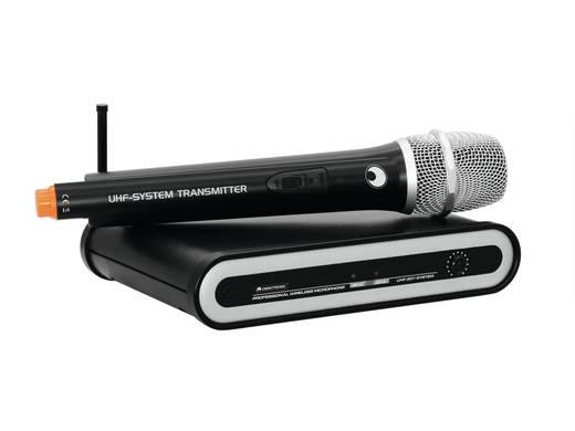 Funkmikrofon-Set Omnitronic UHF-201 Übertragungsart:Funk