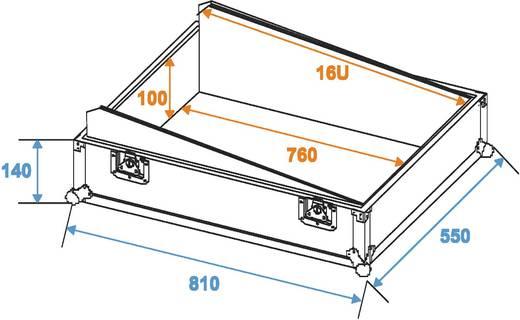 ROADINGER Mixer-Case Profi MCB-19, schräg, sw 16HE