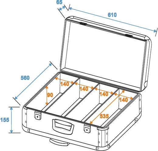 CD-Case Roadinger CD-Case 200CDs (L x B x H) 145 x 625 x 610 mm