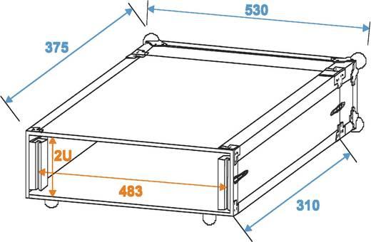 Case Roadinger Funkmikrofon System Roadinger (L x B x H) 510 x 535 x 140 mm