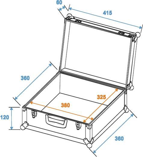 Universal-Koffer Roadinger FOAM GR-3 (L x B x H) 360 x 415 x 180 mm