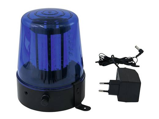 LED Polizeilicht Eurolite 108 LEDs blau classics 4 W Blau Anzahl Leuchtmittel: 108
