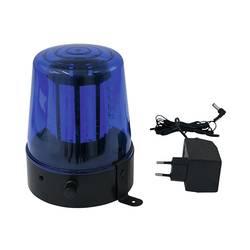 Policejní maják Eurolite LED 4 W modrá Počet žárovek: 108 - Eurolite LED policejní maják 108 LED, mo