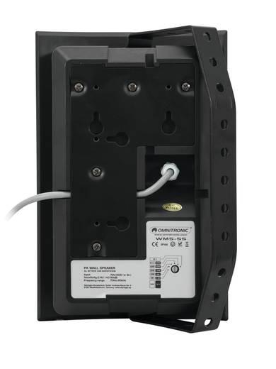ELA-Wandlautsprecher Omnitronic WMS-5S 40 W Schwarz 1 St.