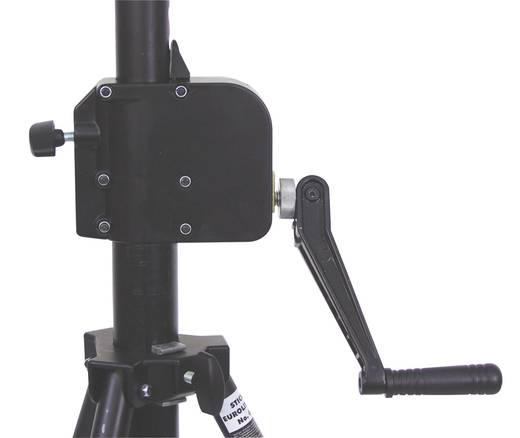 Lichtstativ inkl. Kurbel Belastbar bis Gewicht:35 kg Eurolite STW-370A