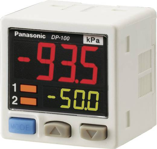Panasonic Drucksensor 1 St. DP-111-E-P-J -1 bar bis 1 bar M8, 4 polig (L x B x H) 42.5 x 30 x 30 mm