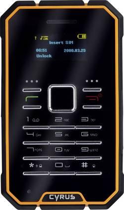 Image of Cyrus CM1 Outdoor-Handy Schwarz-Gelb IP-67 Zertifizierung