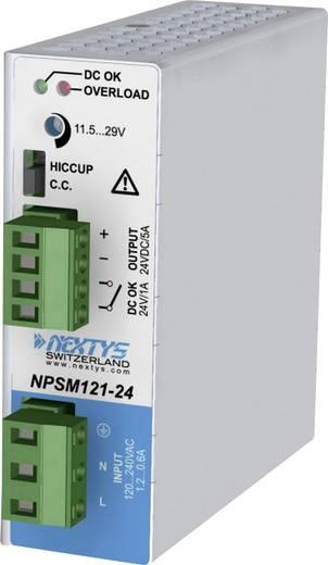 Hutschienen-Netzteil (DIN-Rail) Nextys NPSM121-24 5 A 120 W 1 x