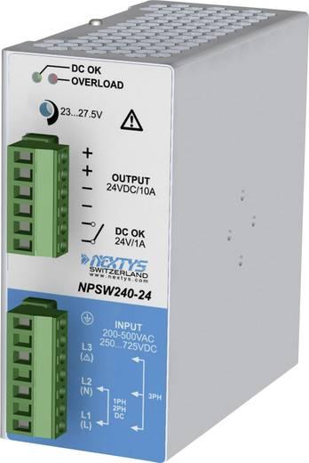 Nextys NPSW240-24 Hutschienen-Netzteil (DIN-Rail) 24 V/DC 10 A 240 W 1 x