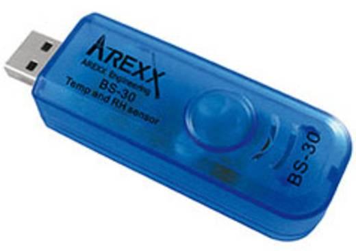 Arexx BS-30 Multi-Datenlogger Messgröße Luftfeuchtigkeit, Temperatur -40 bis 100 °C 20 bis 100 % rF Mini SD Slot K
