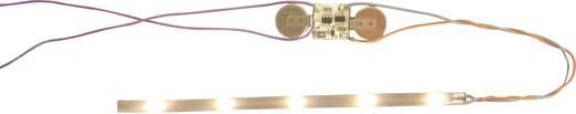 Mayerhofer Modellbau 71880 Z Waggon-Innenbeleuchtung 45 mm, 5 LEDs Warm-Weiß 45 mm